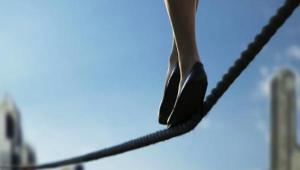 Striking out on your own is often like walking on a tightrope. It's a risk requiring balance and skill.