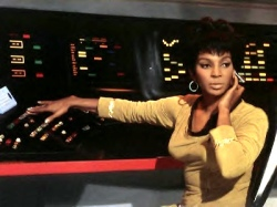 Lt. Uhura in command.